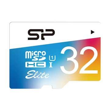 SILICON POWER  Elite Micro 32G UHS-I 高速記憶卡
