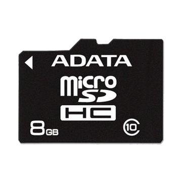 Micro 8G CL4附轉卡記憶卡