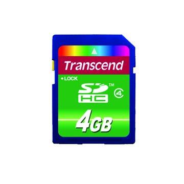 SDHC 4G CL4記憶卡