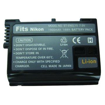 NIKON 尼康 EN-EL15 副廠鋰電池(適用D7000)
