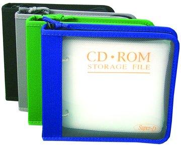 24片透明活頁CD包