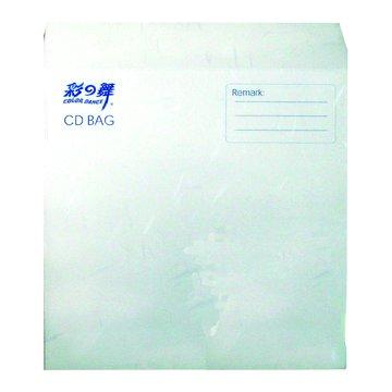 頂級光碟紙袋-珍珠白