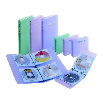 Flying 雙鶖 CD301-1 24片二孔空夾CD包