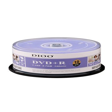 DIOO 海洋版 16X DVD+R/4.7G10片+布丁桶