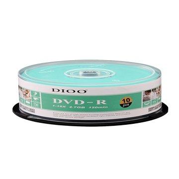 DIOO 海洋版 16X DVD-R/4.7G10片+布丁桶