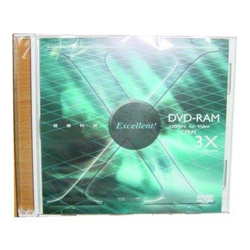 錸德 RITEK 3X DVD-RAM/4.7G單片