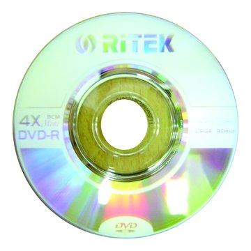 錸德 RITEK 8cm 4X DVD-R/1.4G單片裝