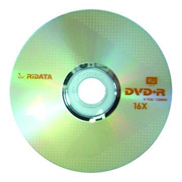 錸德 RIDATA 16X DVD+R/4.7G10片+布丁桶