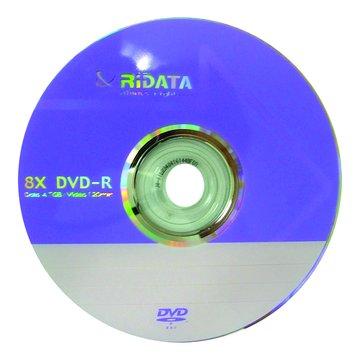 錸德 RIDATA 8X DVD-R/4.7G10片+布丁桶