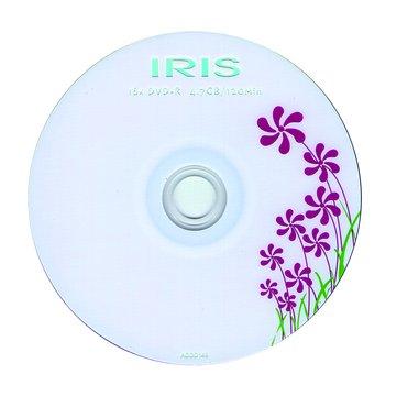 IRIS 鳶尾草16X DVD+R/4.7G50片