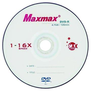 MAXMAX 小魚16X DVD-R/4.7G10片+布丁桶