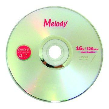 Melody 16X DVD-R/4.7G25片+布丁桶