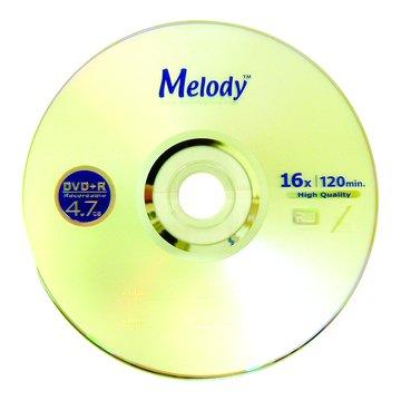 Melody 16X DVD+R/4.7G25片+布丁桶