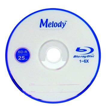 Melody藍光6X BD-R/25G135min5片精裝