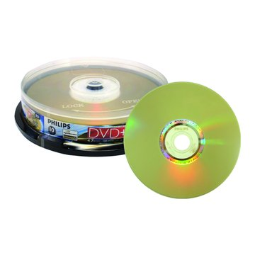 PHILIPS 光雕16X DVD+R/4.7G10片+布丁桶