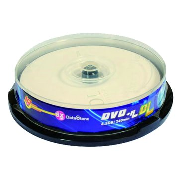 DataStone 8X DVD+R DL/8.5G10片+布丁桶