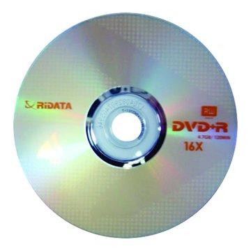 RIDATA  錸德 16X DVD+R/4.7G25片+布丁桶