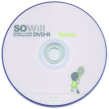 SOWill 網球16X DVD-R/4.7G55片