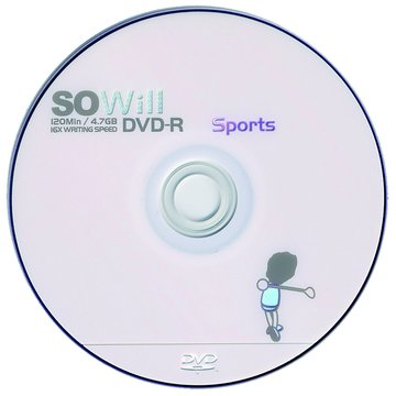 SOWill 高爾夫16X DVD-R/4.7G55片