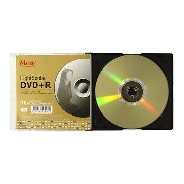 Melody 光雕 16X DVD+R/4.7G單片裝