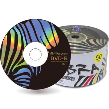 e-Power  斑馬16XDVD-R/4.7G50片