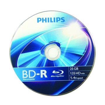 PHILIPS 藍光4X BD-R/25G135min單片裝