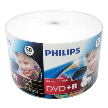 PHILIPS 可印16X DVD+R/4.7G50片
