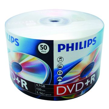 PHILIPS 16X DVD+R/4.7G50片