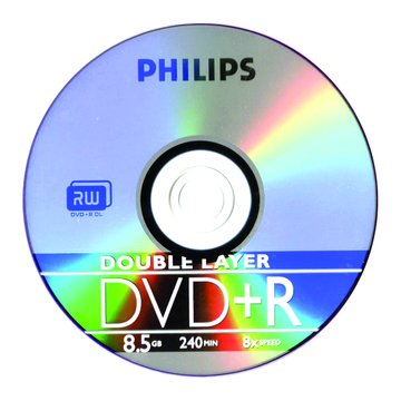PHILIPS 8X DVD+R DL 8.5G10片+布丁桶