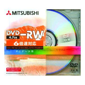 三菱 6X DVD-RW/4.7G單片裝