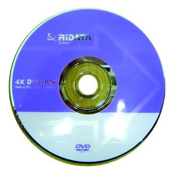 錸德 RIDATA 4X DVD-RW/4.7G單片盒裝