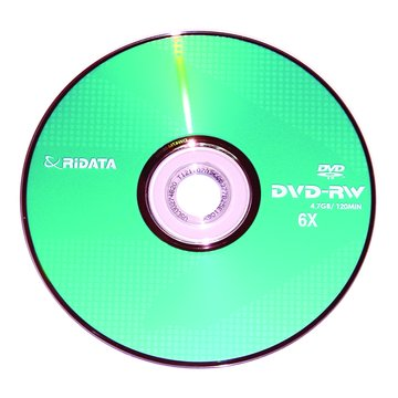 錸德 RIDATA 6X DVD-RW/4.7G單片裝