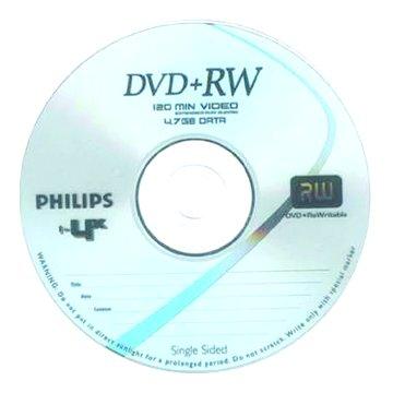 PHILIPS 4X DVD+RW/4.7G單片