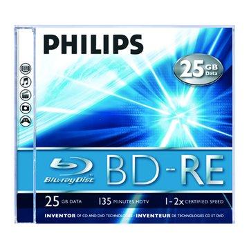 PHILIPS 藍光BD-RE/25G單片裝
