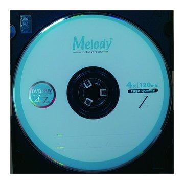 Melody 4X DVD+RW/4.7G單片精裝