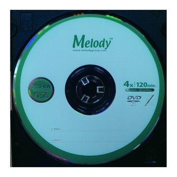 Melody 4X DVD-RW/4.7G單片精裝