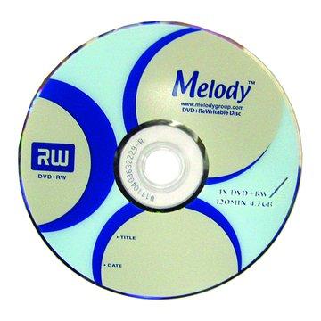 Melody 4X DVD+RW/4.7G10片+布丁桶