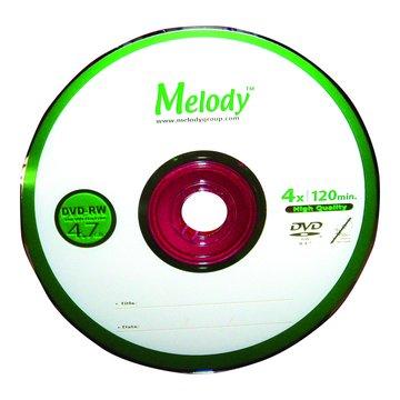 Melody 4X DVD-RW/4.7G10片+布丁桶