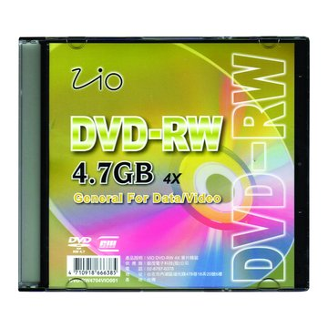 Vio 4X DVD-RW/4.7G單片