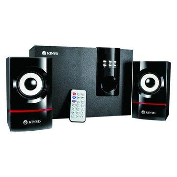 KY-7350/黑/MP3讀卡三件式喇叭