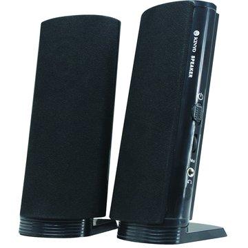 LSP-215B/黑/二件式USB喇叭(福利品出清)
