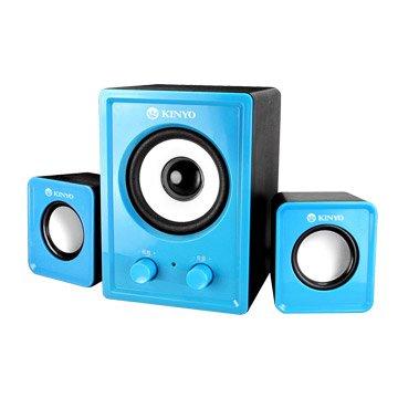 US-179BU/藍/三件式USB喇叭