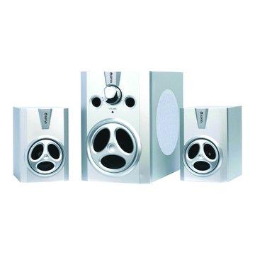 KY-480/銀/木質三件式喇叭(福利品出清)