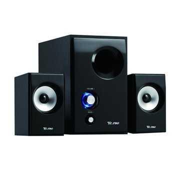 TCS3324/黑/木箱三件式喇叭(福利品出清)