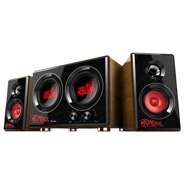 T.C.STAR 連鈺 TCS3429RD/紅/三件式電競喇叭/35W