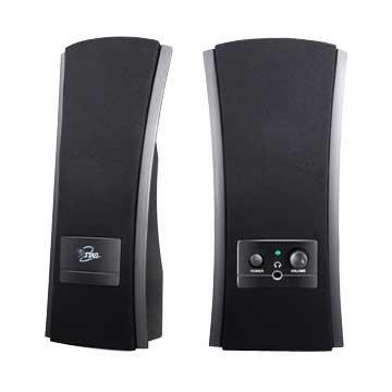TCS2285/黑/二件式喇叭/3W(AC供電)