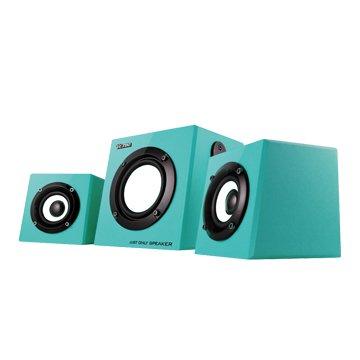 TCS4000TB/藍/三件式喇叭/8W(福利品出清)