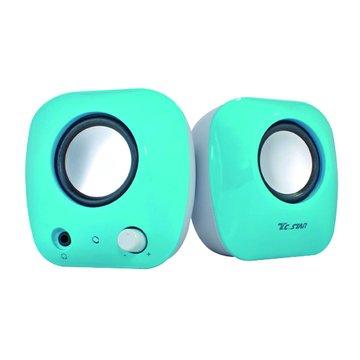 TCS2280BU/藍/二件式喇叭(福利品出清)