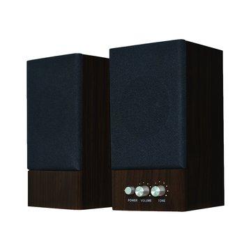 JS 淇譽JY2039/核桃木/全木質二件式喇叭