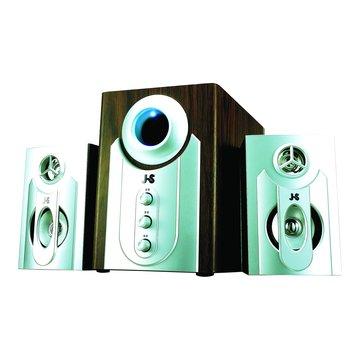 JY3002/銀/2多媒體三件式喇叭(福利品出清)